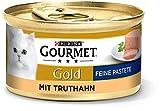 Purina Gourmet Gold 12 Paquets de 185g boîtes de pâtée pour Chats - Nourriture Humide pour Chats - Différentes variétés