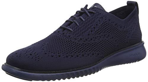 Cole Haan C29247 Zapatos de Cordones Oxford para Hombre, Color Negro, 26