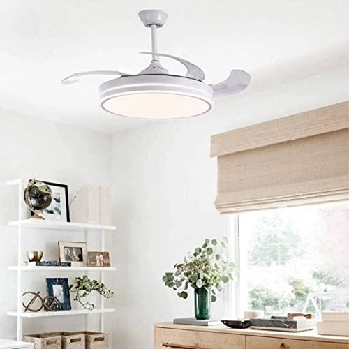 LEDUN Ventiladores para el techo con lámpara