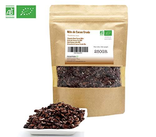 FRISAFRAN - Nibs de Cacao Crudo Ecológico (250Gr)