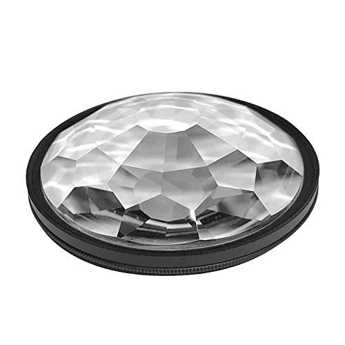 Andoer 77 mm Caleidoscopio Prisma Cámara Filtro de Vidrio Número Variable de sujetos Accesorios de fotografía SLR