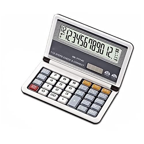 Calculadora de Escritorio Calculadora Calculadora de Oficina de Negocios Flip Plegable Estudio Calculadora Científica Solar Dual Power Calculadora Financiera Precise creativo/C