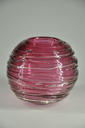 Glasfeld, Purpur, Designer, Glas, Vase, Design, Qualität, Handarbeit