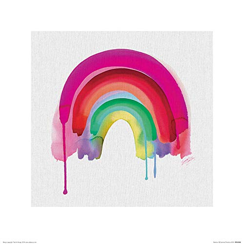 Summer Thornton - Póster (40 x 40 cm), diseño de arcoíris