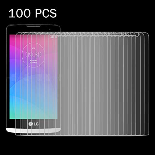 Jiangym Mobile Phone Tempered Glass Film 100 PCS for LG Leon / C40 0.26mm 9H+ Surface Hardness 2.5D Explosion-Proof Tempered Glass Film Tempered Glass Film