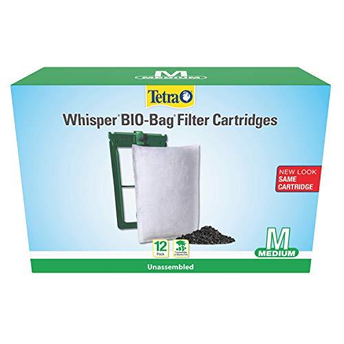 Tetra Whisper Bio-Bag Cartridge - Unassembled - Medium - 12 pack (26160)