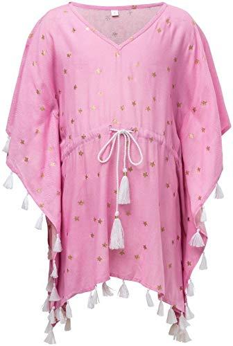 Snapper Rock meisjes roze goudstar UV-bescherming tuniek
