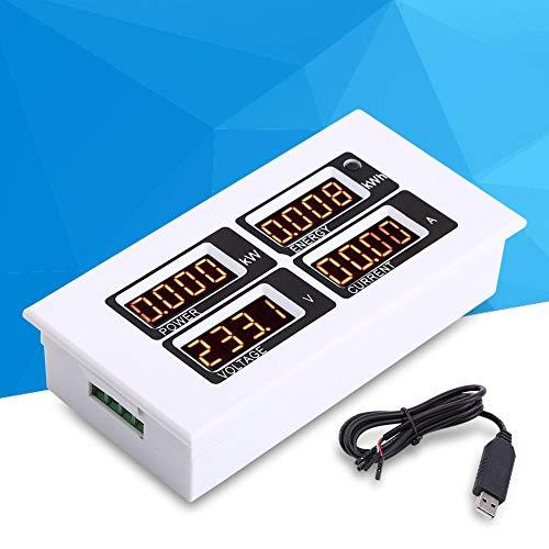 AC 80-260 V / 100A Stromzähler, Überwachung Multimeter Strom Spannung mit CT USB Adapter