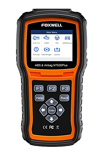 FOXWELL NT630 Plus OBD2 Scanner ABS SRS Code Reader...