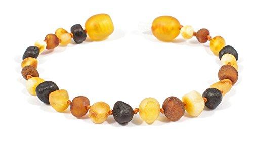 Baltic Secret Amber Anklet Bracelet Genuine Raw Unpolished Beads