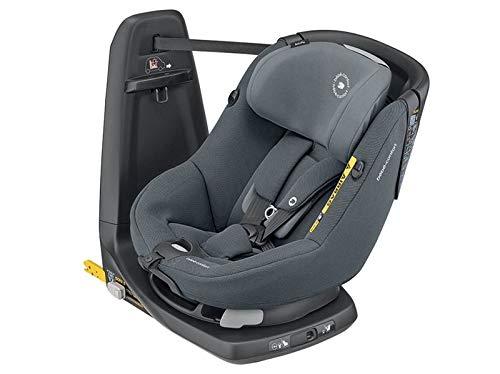 Bébé Confort Axissfix Seggiolino Auto Isofix Girevole 360°, Reclinabile 4 Posizioni, ece R129 I-Size, per Bambini dai 4 Mesi ai 4 Anni (61-105 cm), Authentic Graphite