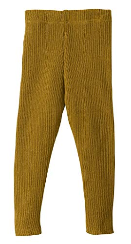 Disana Strick-Leggings gold Gr.86/92