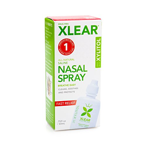Xlear Natural Nasal Spray With Xylitol, 0.75 Fluid Ounce