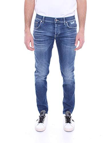 DONDUP UP168 DSE270 Jeans Uomo Blu Medio 30
