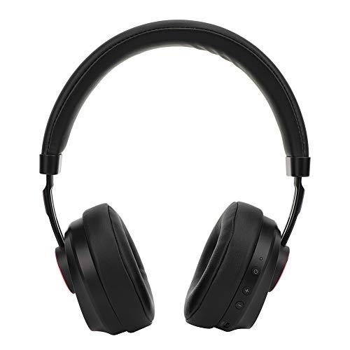 Garsent Bluetooth-hoofdtelefoon, draadloos/bekabelde bluetooth-muziekkoptelefoon met microfoon, noise cancelling, opvouwbare stereo-gaming hoofdtelefoon voor smartphone, pc, tablet, PS4 enz.