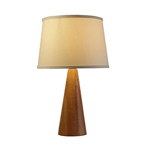 Verbindung Art Schlafzimmer Schreibtischlampe Nachttischlampe aus Massivholz Park Einfache Hochzeit Dekoration Garten Alabaster Lampenschirm 7/4