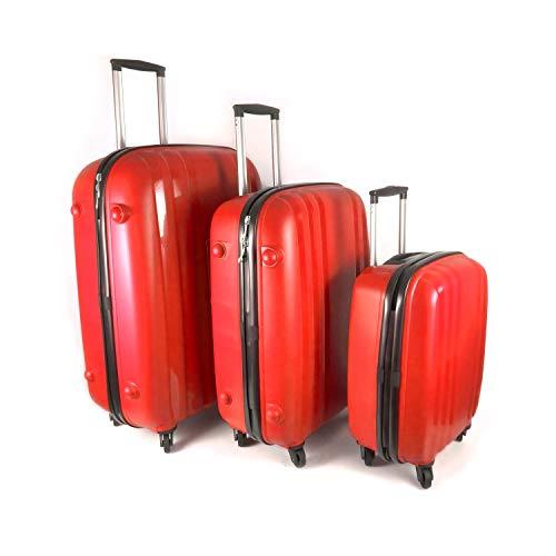 Set de 3 valises Trolley 4 roues