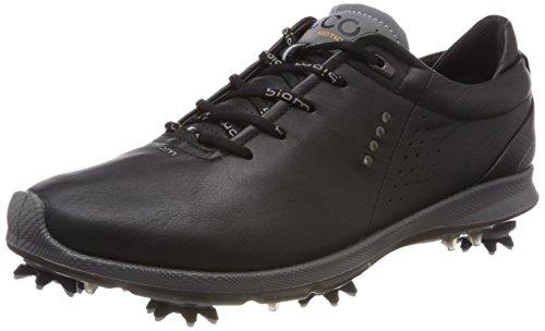 ECCO Mens Biom G 2 Free GTX, Chaussures de Golf Homme, Noir (Black/Black Transparent 50054), 42 EU