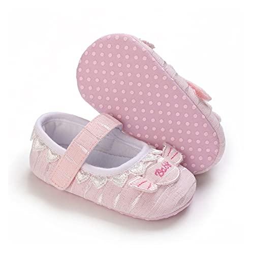 FURONGWANG6777BB Baby Girl Princess Shoes Niño Patrones de Letra Patrones Lace Sandalias Sandalias Soft Sole Calzado Antideslizante PRECULAR (Color : B, Shoe Size : 0-6 Months)