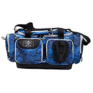 Calcutta Squall 3700 Tackle Bag with Bait Binder Combo – Fishing Storage Gear Organizer