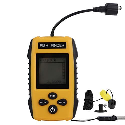 Buscador de Peces de Material ABS Detector de Peces Seguro y Estable Entusiasta de la Pesca Compacto y portátil para el hogar de Pesca al Aire Libre