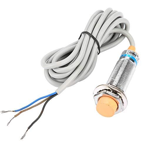 LANTRO JS - 1pc LJC18A3-B-Z/AX 10mm DC 3 cables NO PNP Interruptor de proximidad de sensor inductivo normalmente abierto