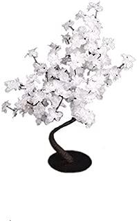 Hi-Line Gift Ltd Floral Lights LED Bonsai Tree, 305-Inch, White