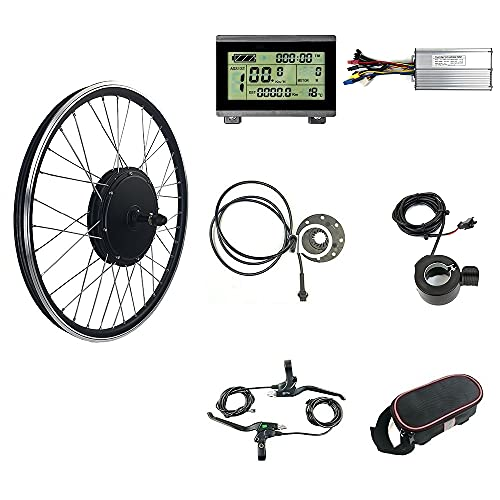 Kit de conversión para bicicletas eléctricas, motor de buje sin...