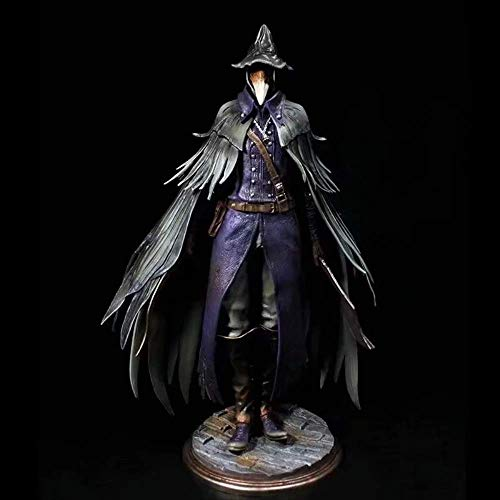 hhjxydst Anime Bloodborne The Old Hunters Sickle PVC Action Figure Giocattoli Anime Figure Eileen The Crow Model Toys
