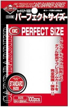 1.000 KMC Perfect Size Sleeves - 10 Packs - Standard Size 3 x 4 - 64 x 89 - Inner