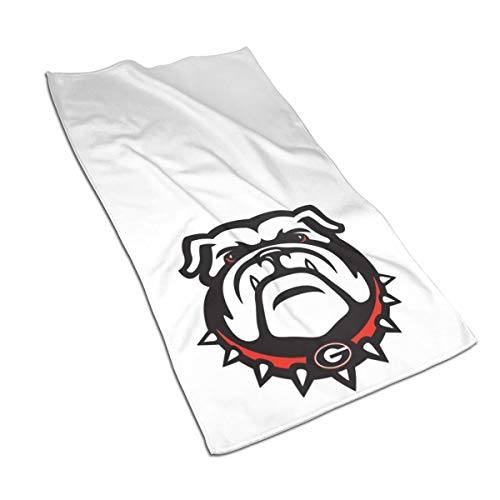 Georgia Bulldogs Kitchen Towels - Dish Cloth - Machine Washable Cotton Kitchen Dishcloths,Dish Towel & Tea Towels for Drying,Cleaning,Cooking,Baking