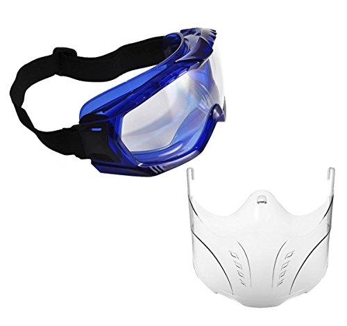 Workear World WW123chiaro angoli non ventilato di sicurezza Goggle e maschera protettiva Workwear kit