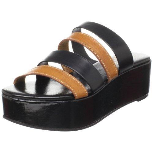 Robert Clergerie Women's Grignan Sandal,Amber Veg,10 M US