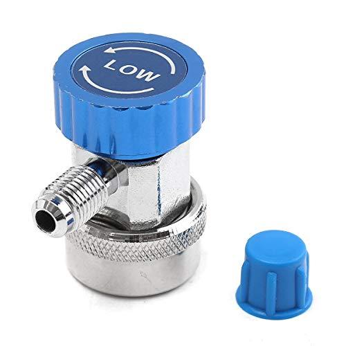 Ajustable Acoplador Rpido Adaptador de acoplamiento rápido ajustable Ajuste de calibre alto bajo medida Conjunto de conversión Coche Aire acondicionado Piezas (Color Name : Blue)