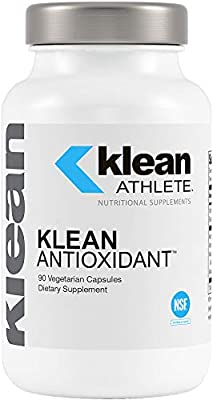 Klean Athlete - Klean Antioxidant - ALA, L-Carnitine and Antioxidants to Help Guard Against Cellular Damage from Intense Training - NSF Certified for Sport - 90 Capsules