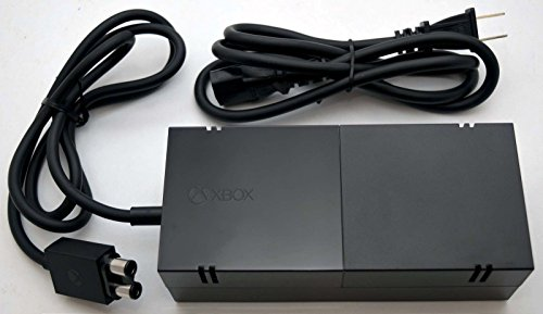 Microsoft OEM Power Supply for Xbox One Complete Kit Adapter with AC Charger Cable for XboxOne.