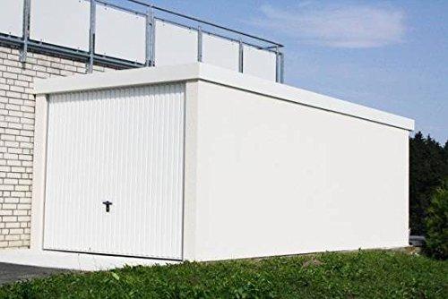 *Fertiggarage Premium Auto Garage 2,58 m x 8,09 m x 2,35m Glattwand verputzt*