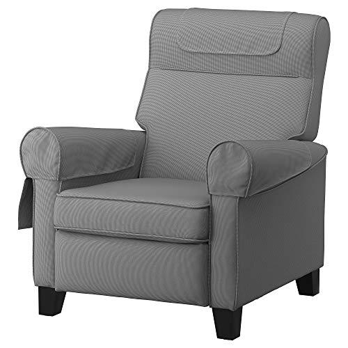IKEA MUREN reclinable 85x94x97 cm Remmarn gris claro