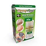 Hempvana Heel Tastic Foot Cream for Dry Cracked Feet - Cracked Heel Treatment Enriched with Hemp Seed Oil - Foot Lotion Promotes Healthy Feet for Women + Men