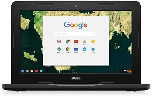 Dell Chromebook 11 - 3180 Intel Celeron N3060 X2 1.6GHz 4GB 16GB,Black(Renewed)