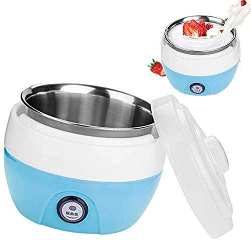 SYYSYY Automatic Yogurt Maker, Full-Automatic Portatile Yogurt Maker Macchina 220V 1L, Yogurt Maker Interne del Contenitore di stoccaggio per Makers Home Kitchen Strumento