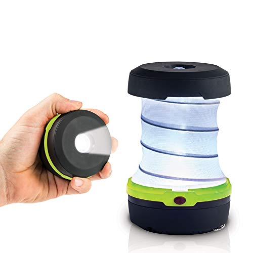 Linterna de Camping Lámpara de Camping LED Farol Luz de Emergencia, Luz de Carpa Resistente al Agua para Acampar, Caminar, Pescar, Cortes de Energía x4 piezas Set