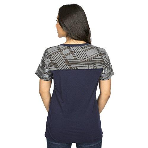 Dallas Cowboys Women's Navy Ruthdale T-shirt X-Small