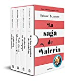 La saga de Valeria (edición pack): En los zapatos de Valeria | Valeria en el espejo | Valeria en blanco y negro | Valeria al desnudo (Best Seller)