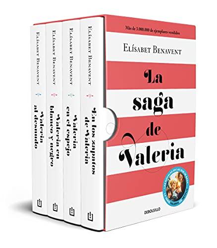 La saga de Valeria (edición pack): En los zapatos de Valeria   Valeria en el espejo   Valeria en blanco y negro   Valeria al desnudo (Best Seller)