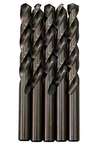 Broca para metal HSS DIN338 M35 cobalto de 13mm (paquete de 5 unidades)