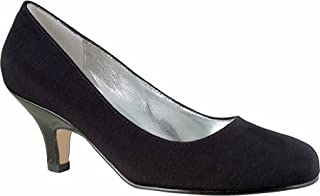 Ros Hommerson Women's Attack Dress Shoes,Black Micro/Patent,9.5 N US