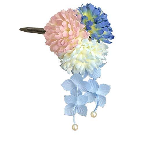 [粋花] Suika フラワークリップ 7076 ブルー