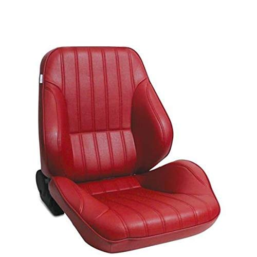 ProCar by Scat 80-1050-58R Red Vinyl Racing Rally Low Back Recliner Right Seat