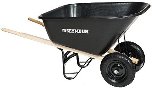 Seymour 85765 Wheelbarrow, 60 x 35.25 x 19.5